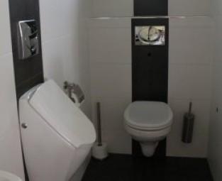 Nieuwbouw woning badkamer